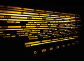 Escala de rádio — Fotografia Stock