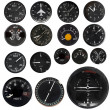 Stock Photo: Aircraft instruments