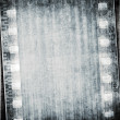 Stock Photo: Grunge color filmstrip