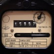 Stock Photo: Old electric meter