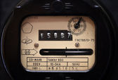 Old electric meter — Stock Photo