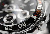 Luxe mens watch detail — Stockfoto