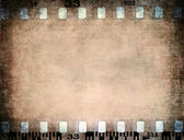 Grunge color filmstrip texture — Stock Photo