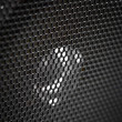 Royalty-Free Stock Photo: Speaker grill close up