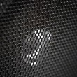 Stock Photo: Speaker grill close up