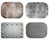 Metal plates — Stock Photo