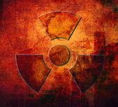 Radioactivity symbol — Stock Photo