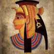 Egyptian pharaoh — Stockfoto