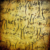 Maths formulas — Stock Photo