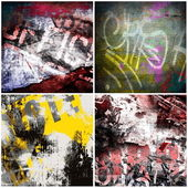 Graffiti backgrounds — Stock Photo