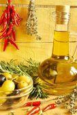 Oil decanter — Stock Photo