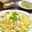 Cheese pasta — Stock Photo