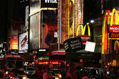 Times square a new york city — Foto Stock