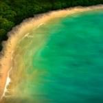 Tropical Coastline - Digital Painting — Stock Photo