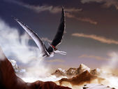 Pterosaur - Digital Painting — Stock Photo