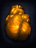 Heart Of Gold - Digital Painting — Stock Photo