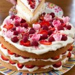 Collorful birthday cake — Stock Photo #9068905