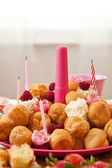 Birthday pastries — Stock Photo