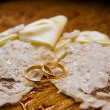 Wedding bands - Stock Photo