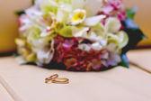 Wedding bands — Stock Photo