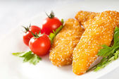 Chicken fillet — Stock Photo