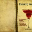 Stock Photo: Strawberry Margaritrecipe