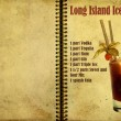 Long Island Iced Terecipe — Stock Photo #10454426