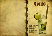 Mojito recipe — Stock Photo