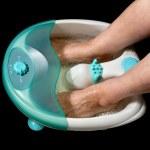 elektrisk vatten fot massager — Stockfoto