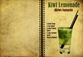 Kiwi squash recipe — Stock Photo