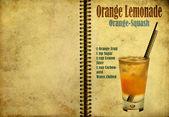 Orange squash recipe — Stock Photo