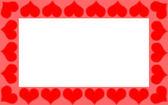 Heart frame — Zdjęcie stockowe