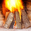 Fireplace — Stock Photo #8481737