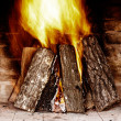 Fireplace — Stock Photo #8513456