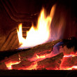 Fireplace — Stock Photo #9083359