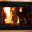 Fireplace — Stock Photo #9083361