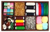 Tailoring materials — Stock Photo