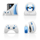 Game icons — Vecteur