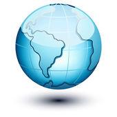 Earth icon — Stock Vector