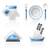 Kitchen items — Stock Vector