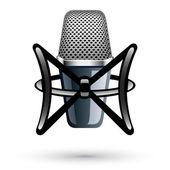 Studio kondensatormikrofon — Stockvektor