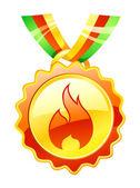 Popular goods award icon — Vector de stock
