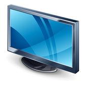 Wystawa tv — Wektor stockowy