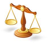 Balance Scale — Stock Vector