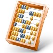 Abacus — Stock Vector