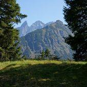 The mountain view — Stock Photo