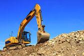 Draguer sur un chantier de construction — Photo