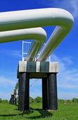 The high pressure pipeline — Stock fotografie
