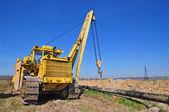 Construction de pipeline — Photo