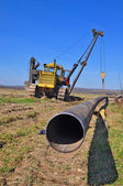 Pipeline building — Foto Stock